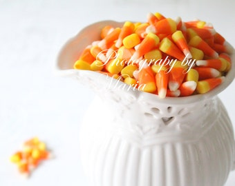 Halloween, Autumn Wall Decor, Sweet Candy Corn 3- Photography by Maria
