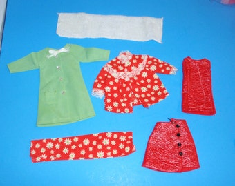 VHTF~Rare! Vintage Barbie JC Penney EXCLUSIVE Set Pajama Set/Evening Jacket Outfits