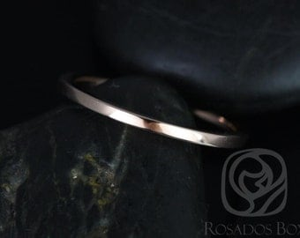 Rosados Box 14kt Matching Band to Marcelle/Blake PLAIN Band
