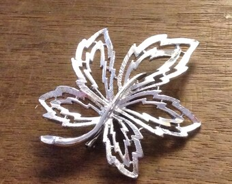 Silver Leaf Pin/Brooch