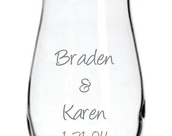 Personalized Vase FREE Personalization