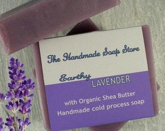 Lavender Soap, Palm Oil Free Soap, SLS Free,Paraben Free, Handmade Soap, Shea Butter Soap