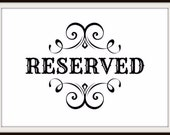 Reserved for Laura