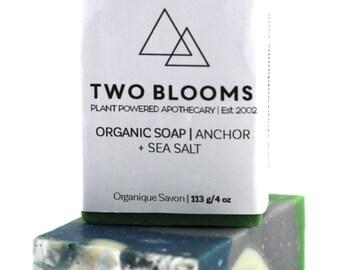 Rosemary Sea Salt Soap, Handmade, Essential Oils, Vegan, Organic
