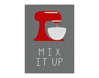 5x7 & 8x10 Mix it Up Instant Digital Kitchen Art Printable