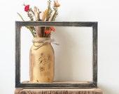 Distressed Frame - 8x10 Shadow Box - Rustic Frame - Photo Frame