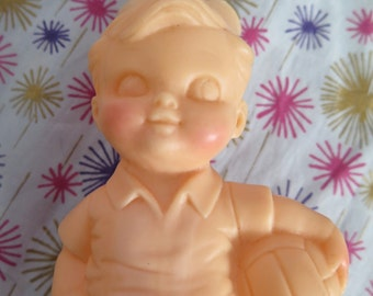 Edward Mobley, little boy prototype never produced, squeak toy, rubber toy