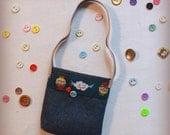 Blythe tote bag - Claudi the cloud - Bag for dolls