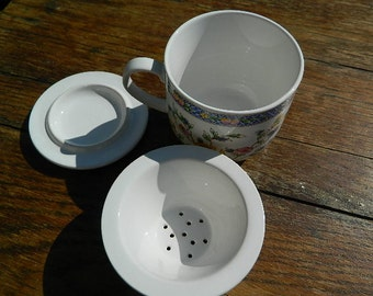 Tea cup with filter