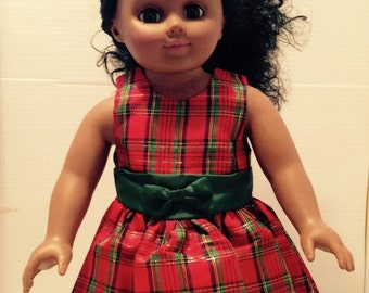 18 in Dolll /American Girl Doll Holiday Outfit