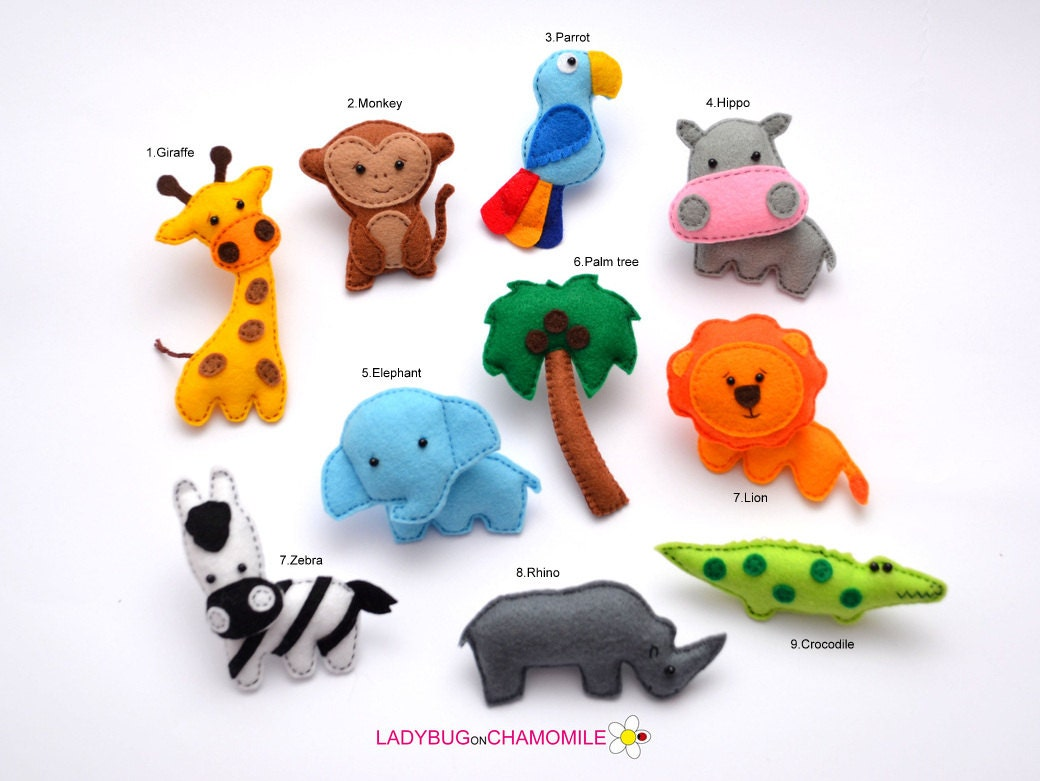 animals for kids felt magnets price per 1 item make your