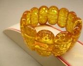Amber Fashion Elegant Bracelet Fine 33.50 Gr Light Yellow Honey Nice Color Handmade #141