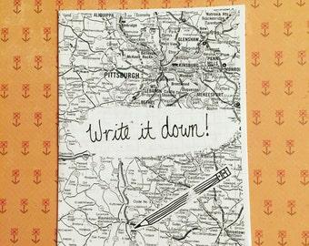 Creativity Zine: Write it Down!