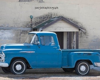 Old Chevy Truck Photograph