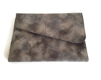 Stone colored ereader cover for all new Kindles, Nooks, iPad Mini and other small ereaders plus custom