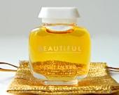 Vintage BEAUTIFUL Estee Lauder Perfume Mini .12 oz Perfect With Gift Bag