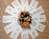 Custom Wedding Calligraphy Table Numbers ~ Dessert Cards ~ Food Labels ~ Reserved Cards ~ Steel Nib Dip Pen ~ Handwritten ~ Affordable