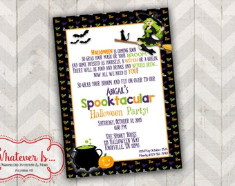 Halloween Spooktacular Party Invitation