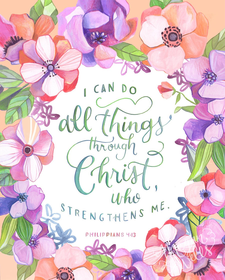 I Can Do All Things Through Christ Wallpaper: Philippians 4:13 I Can Do All Things Through Christ 8