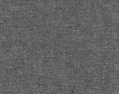 Essex Yarn Dyed - Charcoal - Robert Kaufman Fabrics
