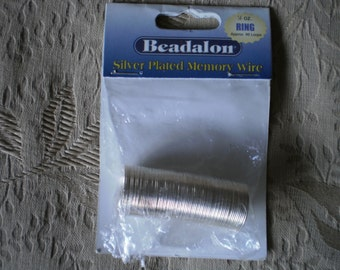 Silver OR Gold Plated Memory Wire for Jewelry Making