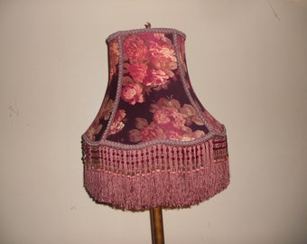 Rose Garden - Handmade One Of A Kind Lampshade, Victorian/Traditional