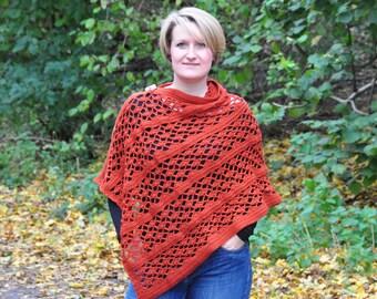 The Picante Wrap - Instant Download PDF Crochet Pattern