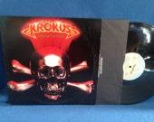 "Vintage, Krokus - ""Headhunter"", Vinyl, LP Record Album, Original 1983 Press, Eat The Rich, Screaming In The Night, Hair Metal"