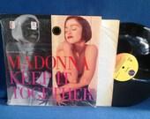 """RARE, Vintage, Madonna - """"Keep It Together"""", Vinyl LP, Record Album, 12"""" Single, In Shrink Wrap, Pop Diva"""