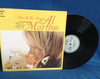"Vintage, Al Martino - ""Mary In The Morning"", Vinyl LP, Record Album, Pop Classics, Original First Press, Love Me Tender,  Release Me"