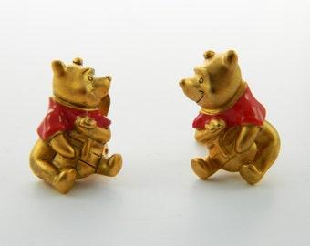 Vintage Winnie the Pooh Earrings