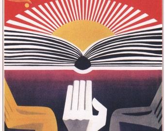 Propaganda poster, Lenin, Propaganda, Soviet propaganda, Communism, Soviet, Poster, Wall decor, Russian, Soviet poster, USSR, Russia, 321