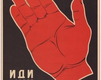Soviet propaganda, Communism, Soviet, Poster, Wall decor, Russian, Soviet poster, USSR, Russia, Propaganda poster, Lenin, Propaganda, 145