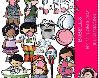 Bubbles clip art - COMBO PACK