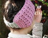Iris Warmer - crochet warmer - Toddler, Child and Adult sizes - pdf format / eBook