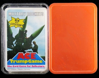 Ace Top Trumps Vintage 1970's Cards with Case