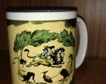 CLEARANCE: The Lion the Witch and the Wardrobe Narnia book cover 11 ounce coffee or tea mug