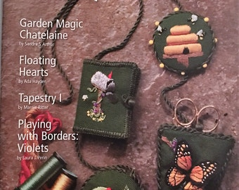 Needlepoint Now Magazine, May / June 2010, Volume XII No. 3, New, Beehive, Butterfly