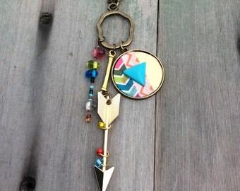 Going My Way Necklace/Long Necklace/Boho/Southwestern/Hippie
