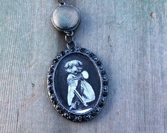 The Violin Necklace/Music/Victorian/Edwardian
