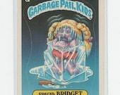 Vintage OS GPK Fridgid Bridget, Garbage Pail Kids, 1980s, Antique Alchemy