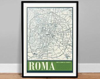 Roma City Map