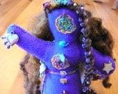 Healing Art Doll, Chakra Doll, Spirit Doll, Medicine Doll