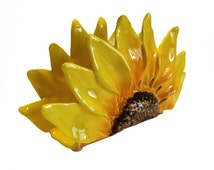 My sunflower napkin holder