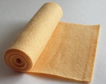 SALE 5x36 Buttercream Wool Blend Felt Roll