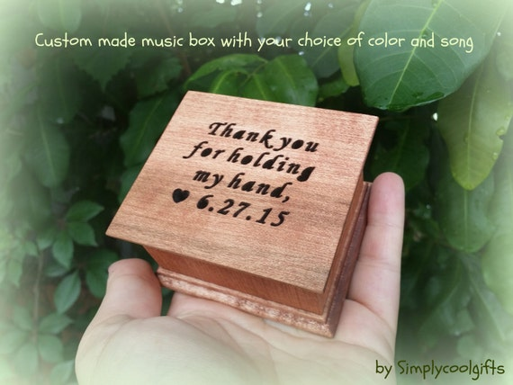 Music Box Wedding Music Box Wedding Favor By Simplycoolgifts