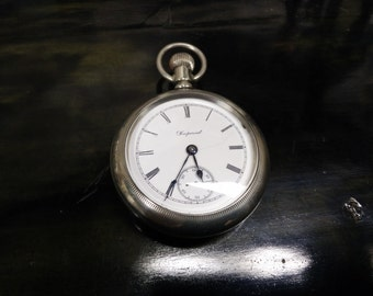 1899 Hamilton Pocket watch. Rare Private Label for Imperial Canada !