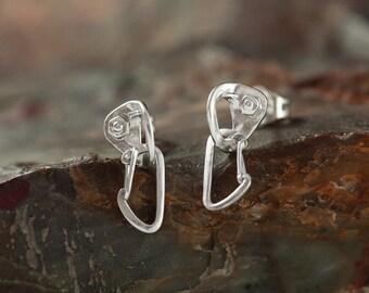 """Earrings """"For a rock climbing girl"""""""