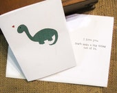 I Love You    Pete the Indifferent Dinosaur