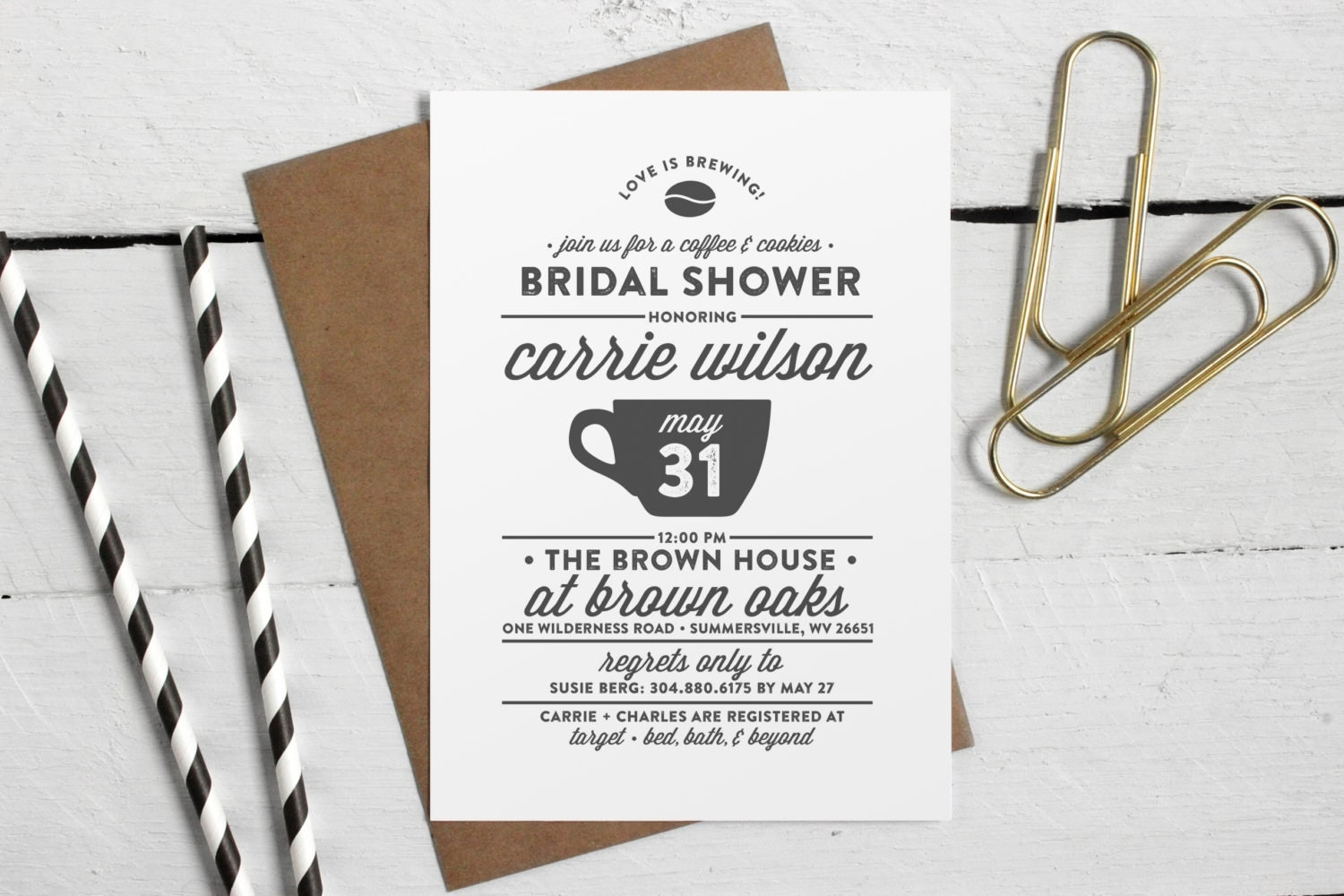 printable bridal shower coffee invite love is brewing